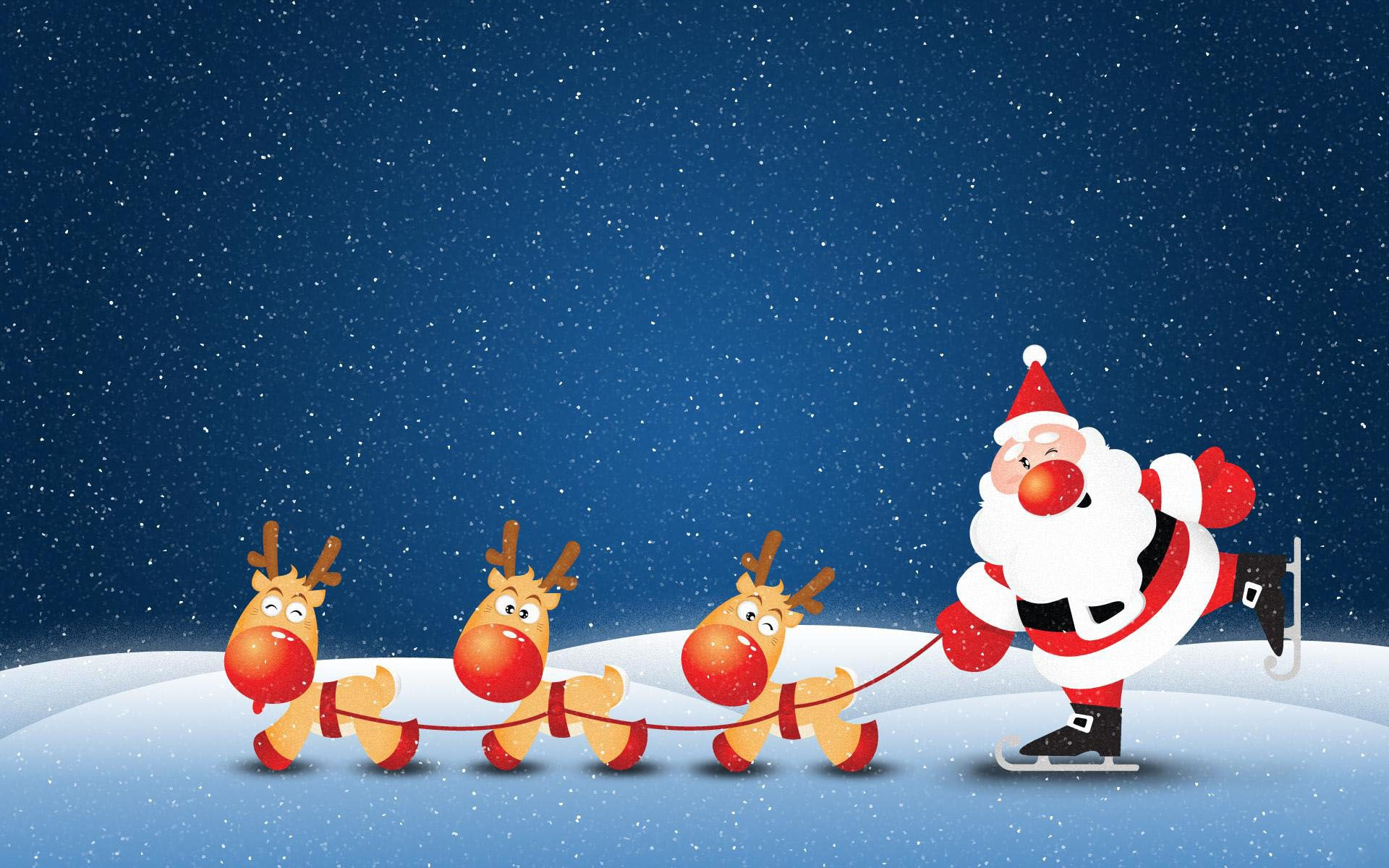 Cute Christmas Santa Wallpaper Christmas Desktop Wallpaper Christmas Cartoons Merry Christmas Wishes Images