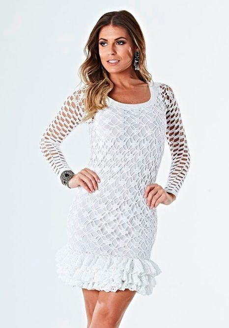 Irish Crochet Crochet Dress How Cute Us This