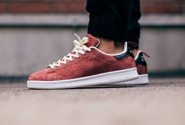 adidas stan smith suede homme