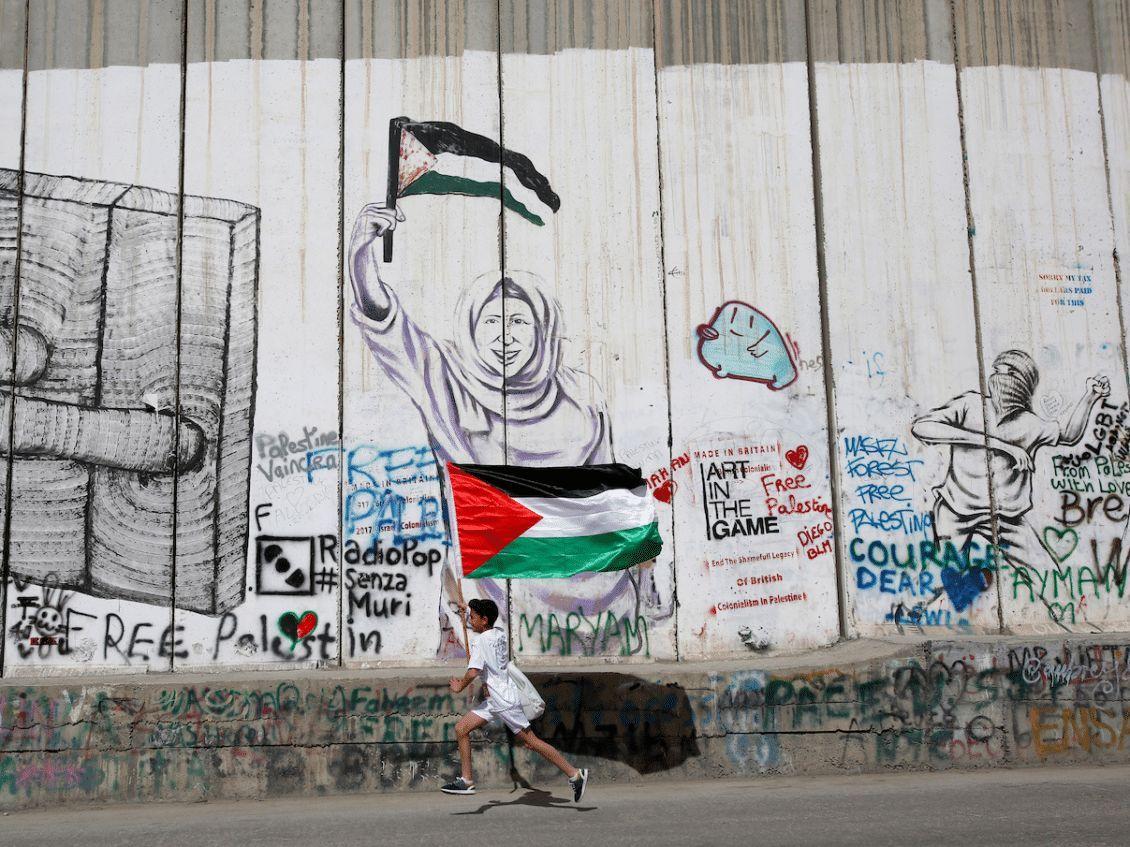 لماذا تمول مايكروسوفت شركة إسرائيلية لمراقبة فلسطينيي الضفة الغربية Street Art Muri I Am Game