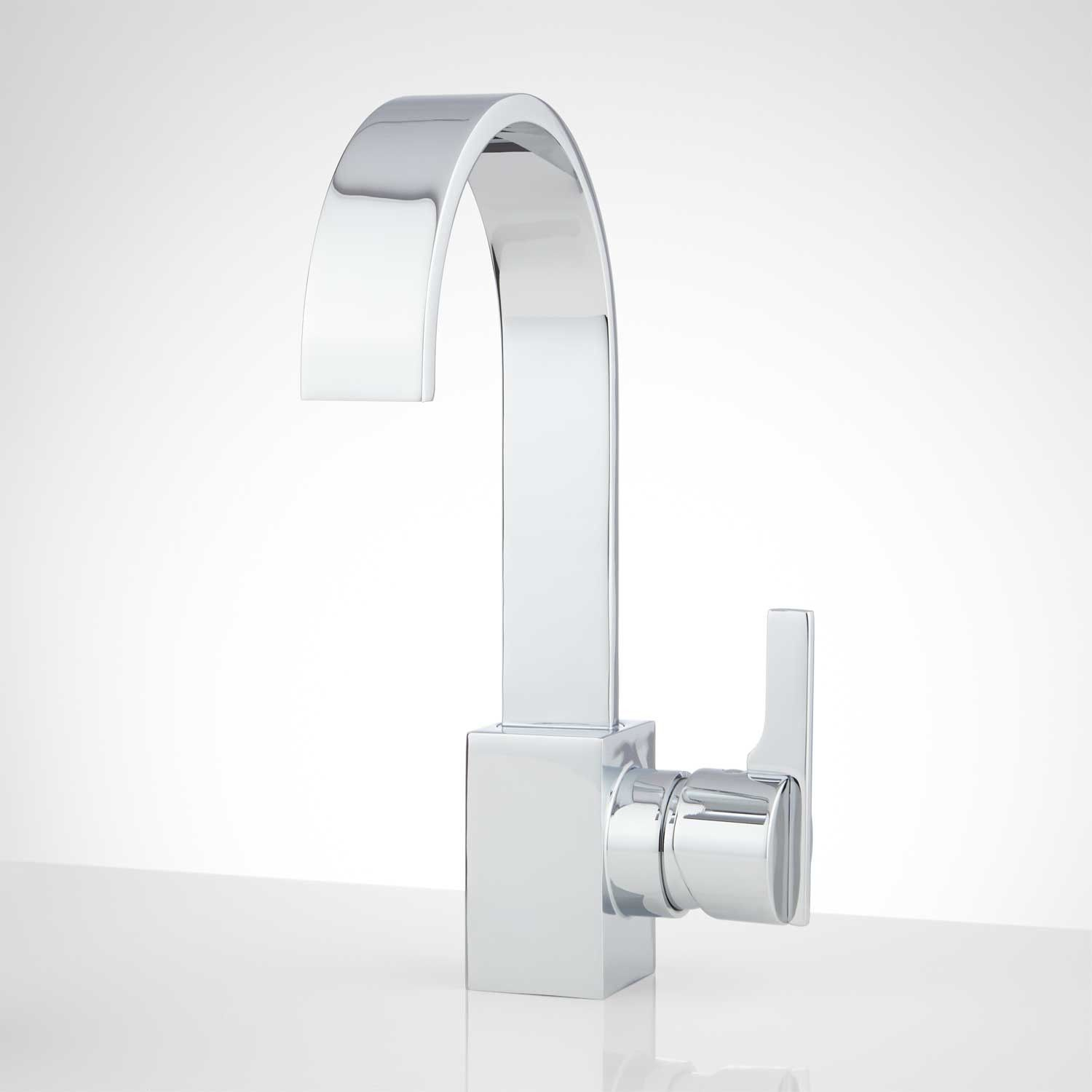 Ultra Single-Hole Bathroom Faucet with Pop-Up Drain | Faucet, Powder ...