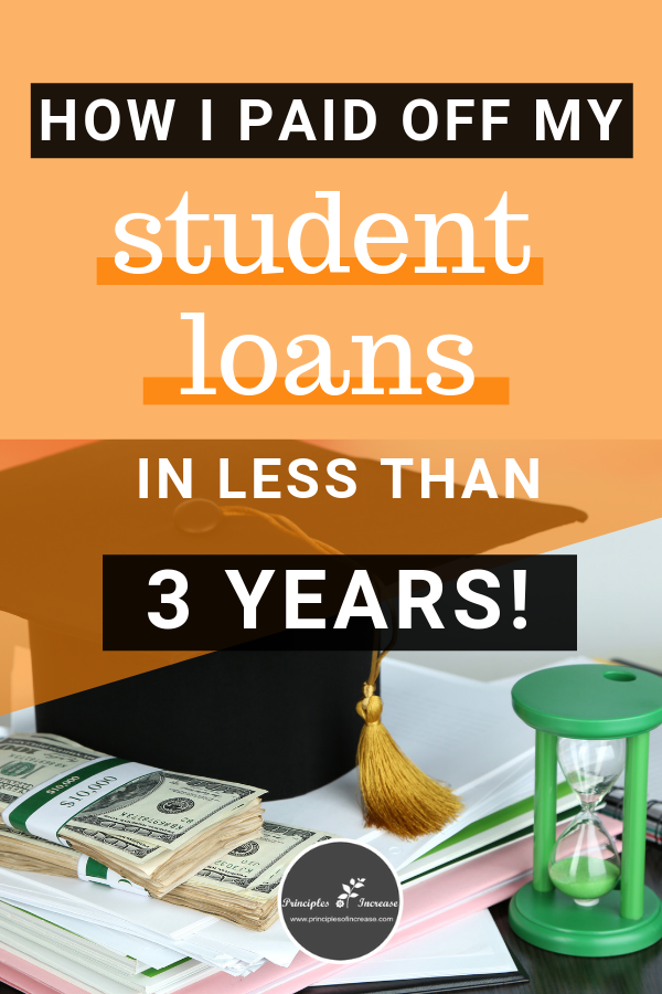 Benefits Of Paying Off Student Loans Early Principles Of Increase Paying Student Loans Student Loans Loan Payoff