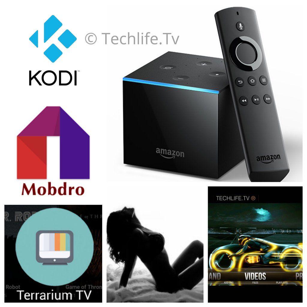 Amazon Fire Tv Cube Loaded W Alexa Voice Control Kodi 17 6