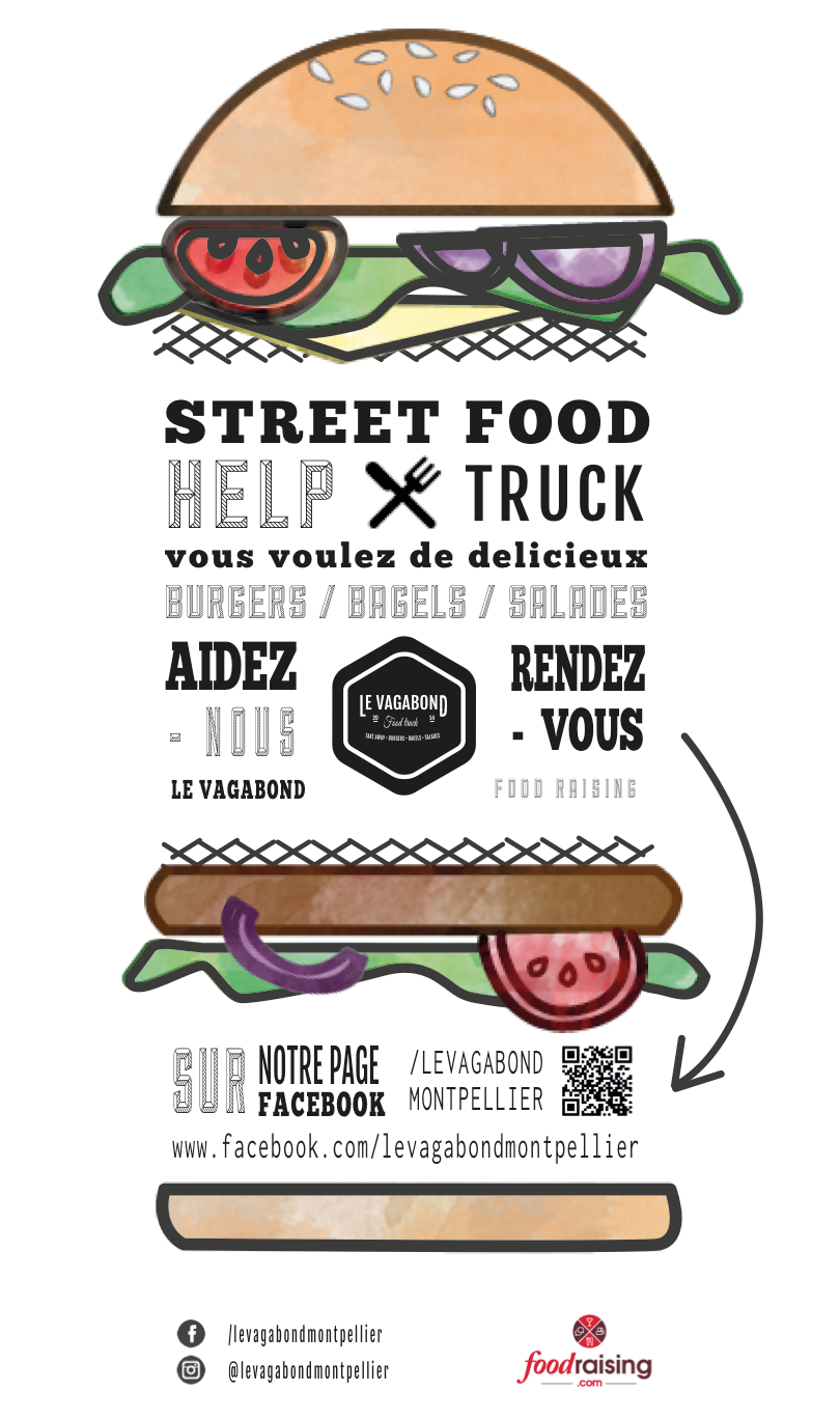 flyer foodtruck burger Foodtrucks, Remolque de comida
