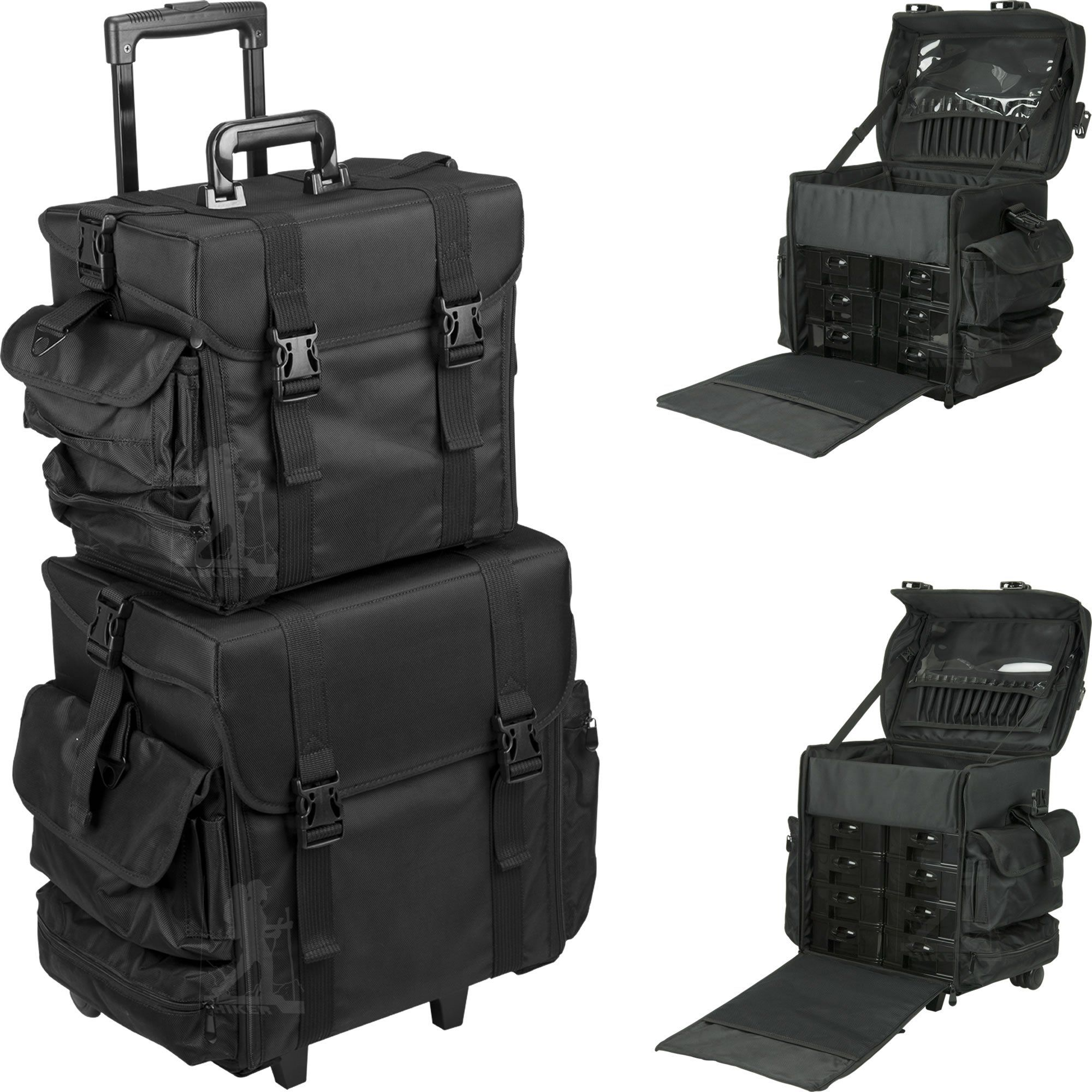 Bianchi Professional SoftSided Rolling Makeup Case by