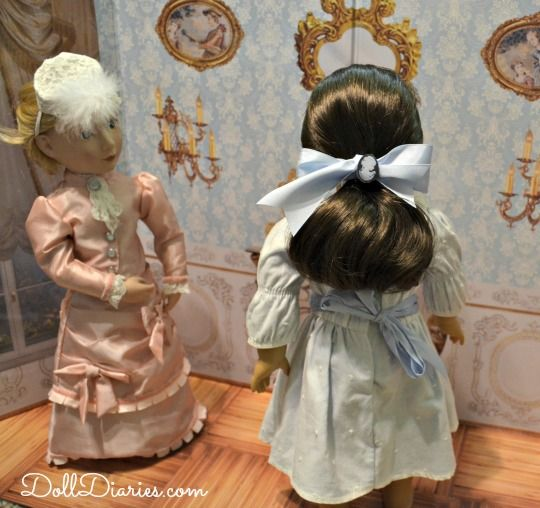 How To Make Fancy Victorian Things For Your Hair Featuring American Samantha And A