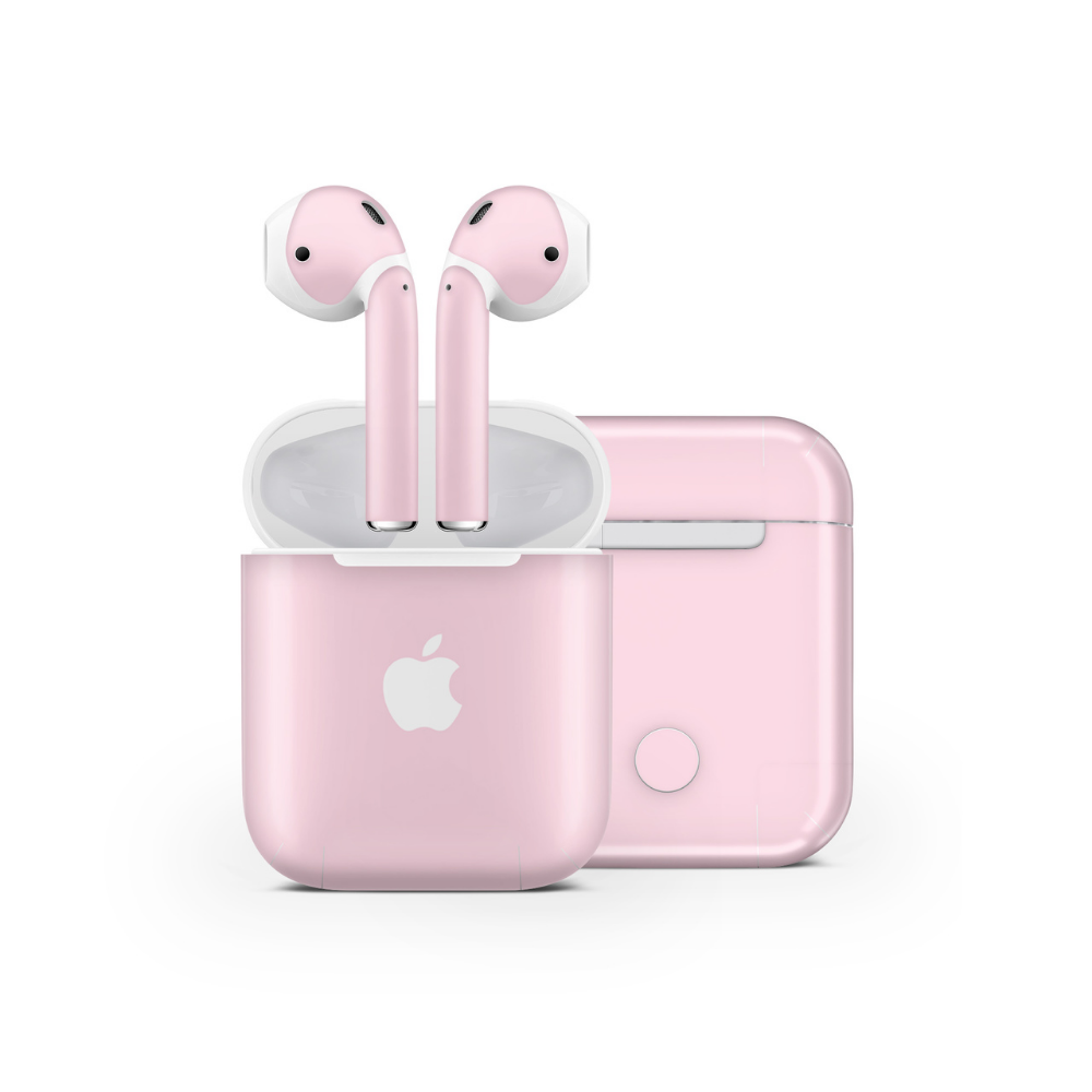Pale Rose Airpods Skin Cute Headphones Apple Products Airpod Case