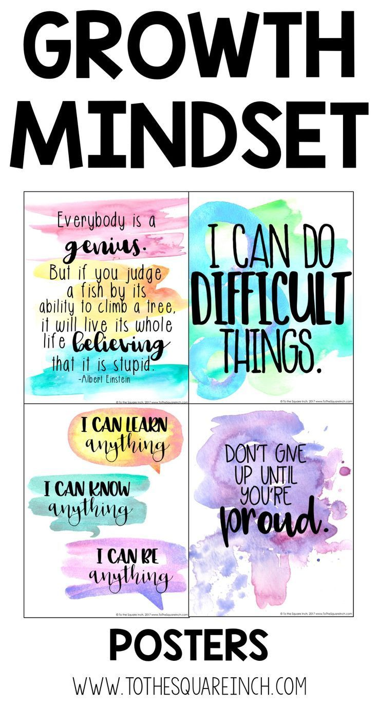 Growth Mindset Posters Growth Mindset Posters Quotes For Students Quotes For Kids