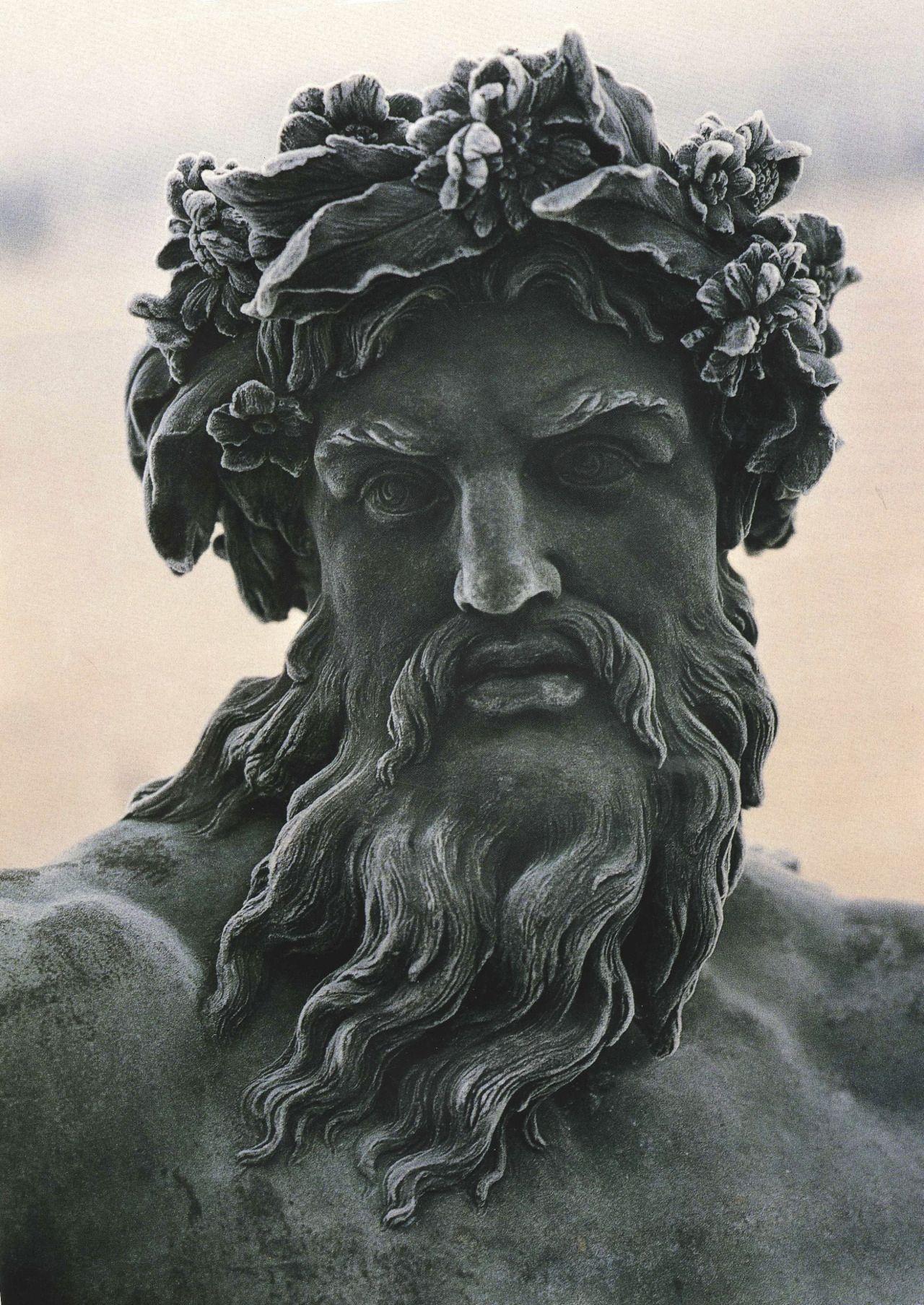 Zeus (detail), Château de Versailles | EScultura ...