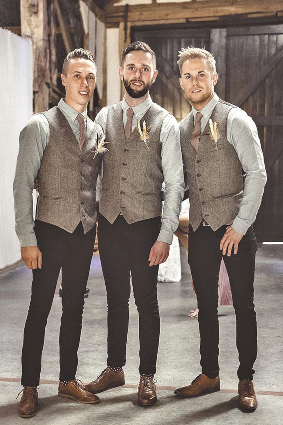 20+ Awesome Casual Wedding Groomsmen Attire That You Need To See ...