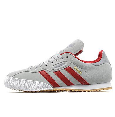 timeless design 26b6d c0952 Adidas Samba grey red