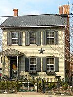 Barn Stars seen alot in Pennsylvania on homes barns My Roots