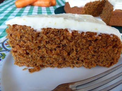 Celiaquines Recetas De Una Mami Gluten Free Pastel De Zanahoria Carrot Cake Pastel De Zanahoria Pasteles Postres