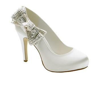 17 Best images about Wedding Shoes on Pinterest   White wedding ...