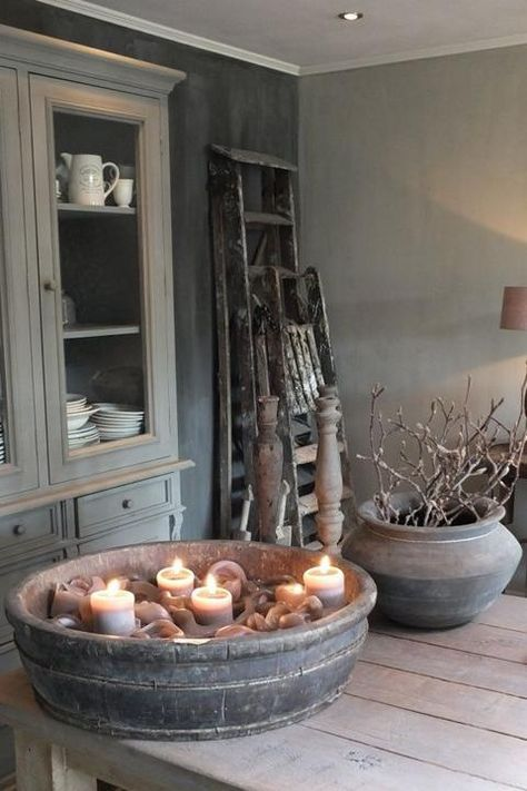 Landhaus Inspirationen Cafe bar, Rustic chic and Kitchens - inspirationen küchen im landhausstil