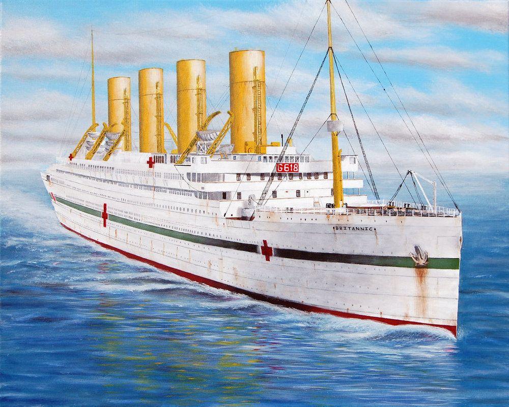 船 タイタニック 姉妹