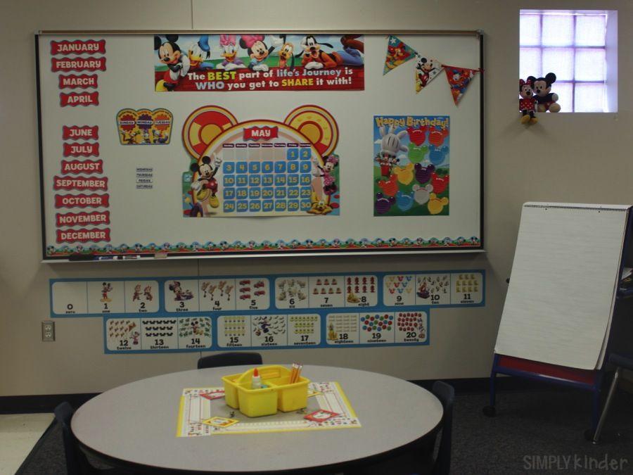 Classroom Decorations Bulletin Board Set : M m classroom decor sets bulletin board idea luigi s fraction