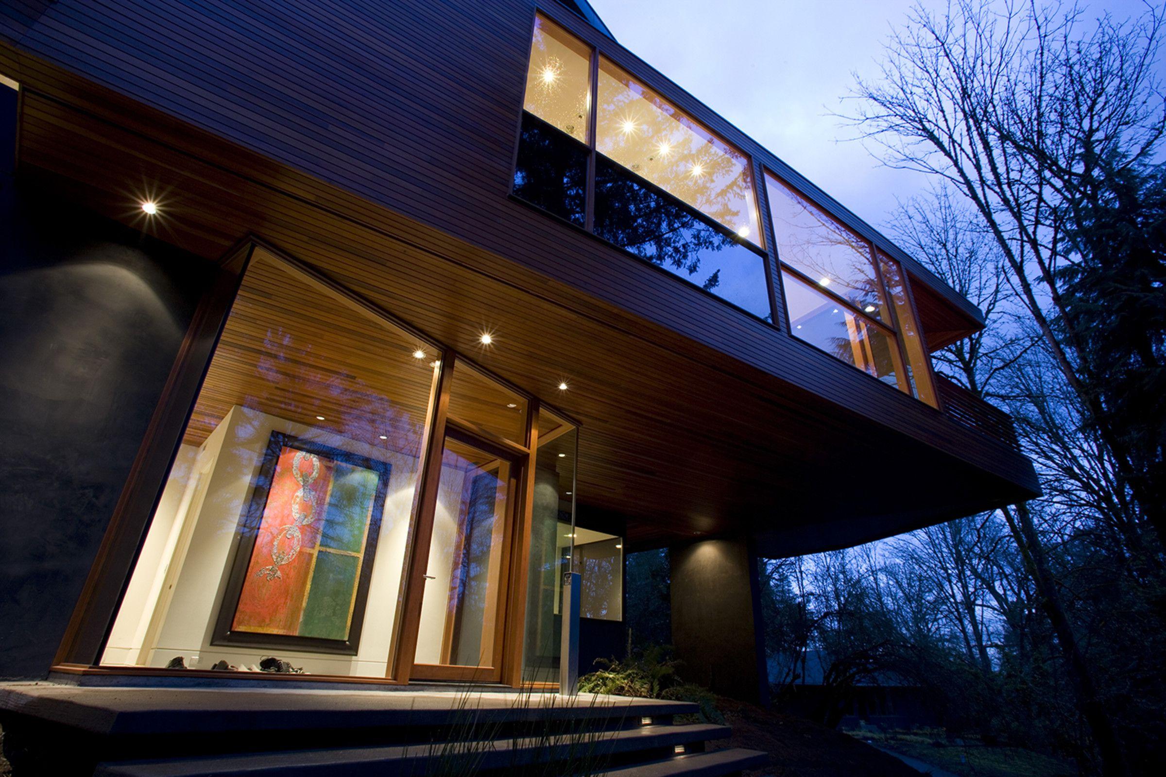 Hoke House Skylab Architecture Twilight House Architecture House