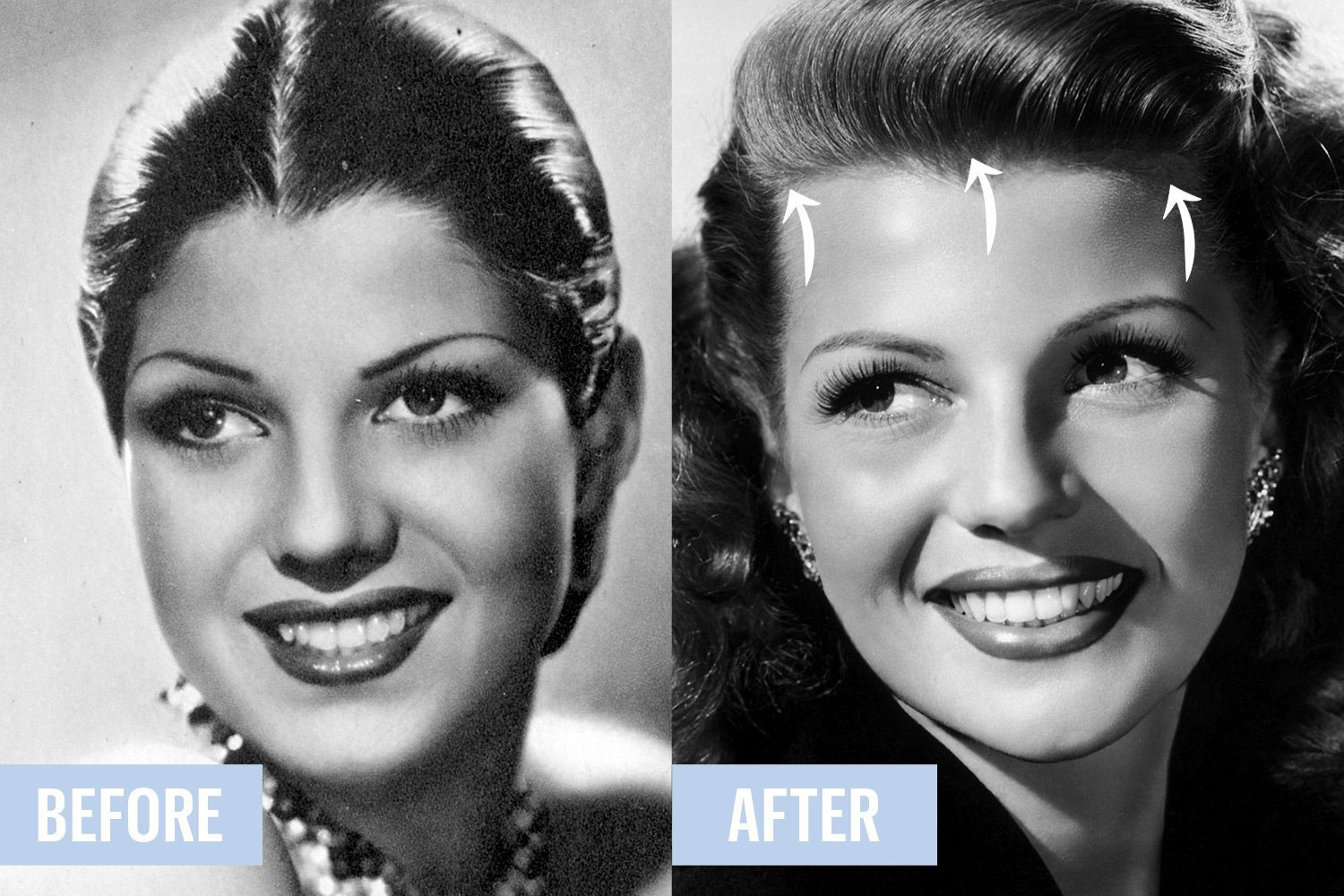 the pre-plastic-surgery era: 4 weird ways old hollywood stars