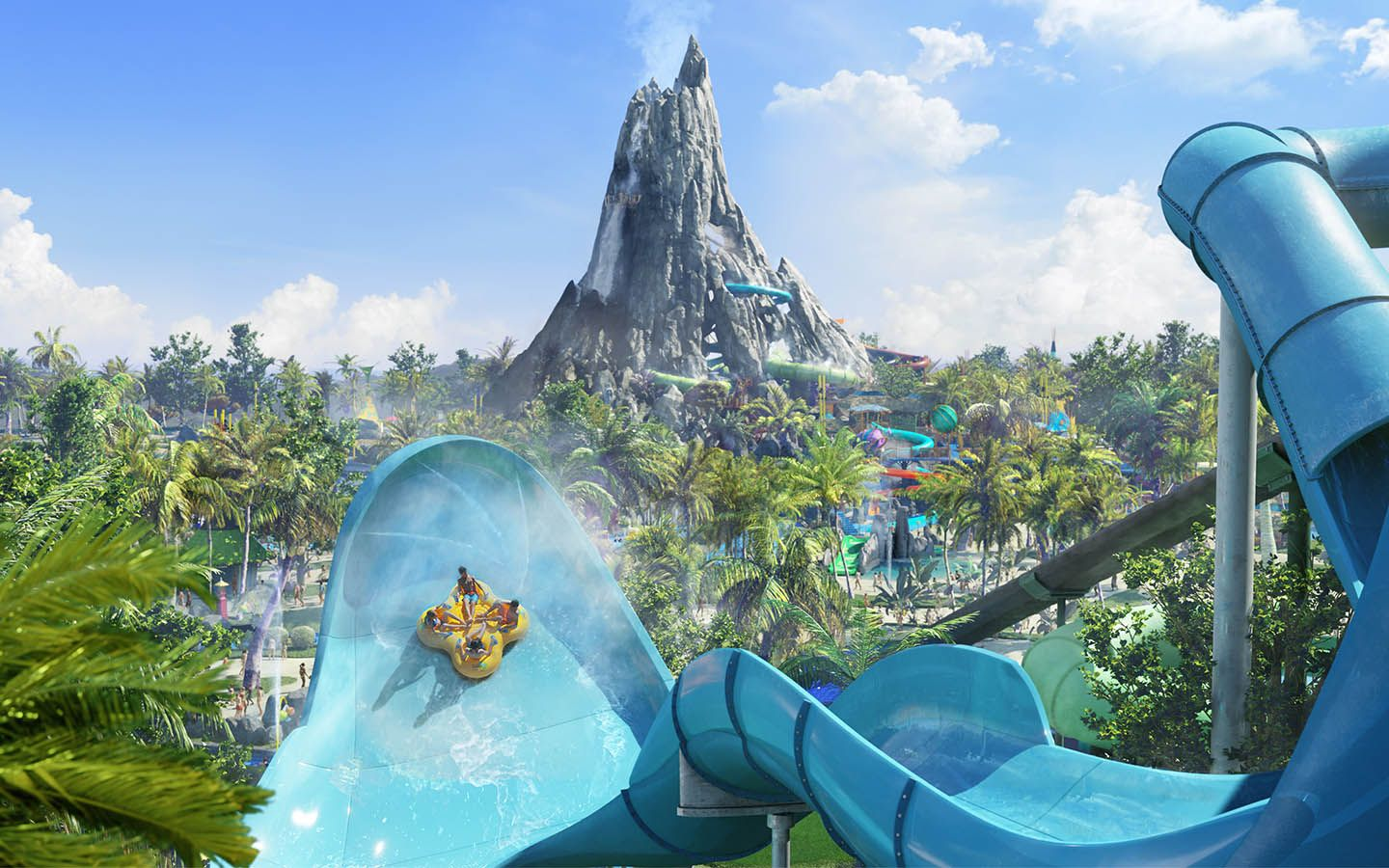 Krakatau Volcano Bay Waterpark