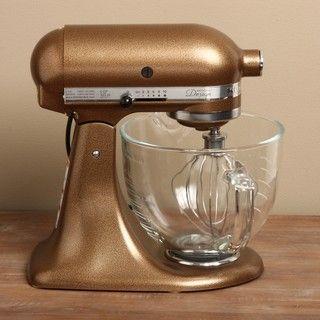 KitchenAid KSM155GBQC Antique Copper Glass Bowl Artisan ...