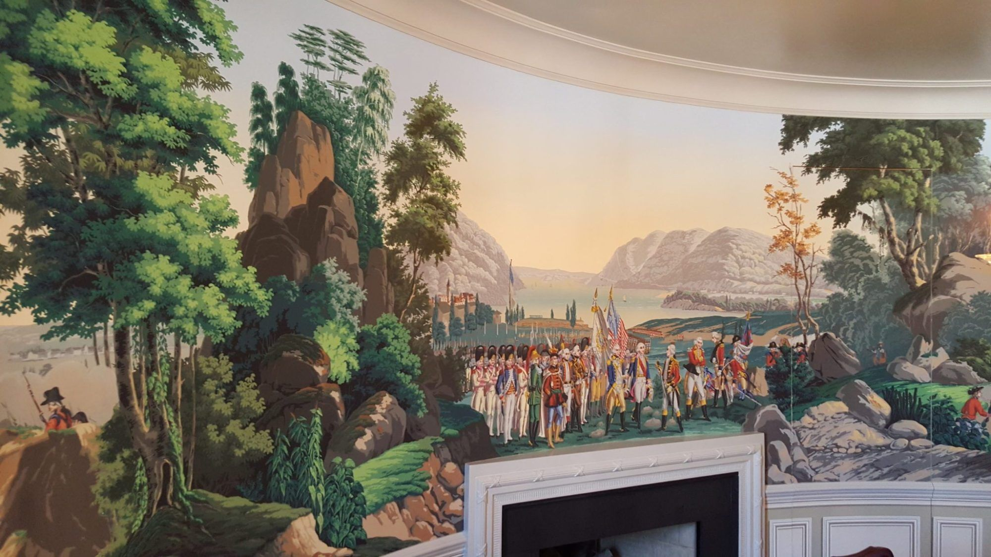 American History Depicted by Zuber Wallpapers - The Glam Pad