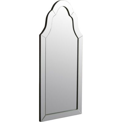 Features:  -Finish: True hand rubbed lacquer permium.  -Elegant profiled top.  Shape: -Arch/Crowned top.  Style (Old): -Modern.  Mirror Type: -Accent.  Orientation: -Vertical.  Framed: -Yes.  Frame Fi