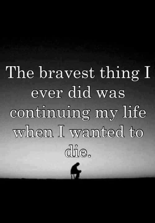 Bravery. I've learned about this through my clients. I admire so many of them. I might be their counselor, but in many ways they have been my teacher.