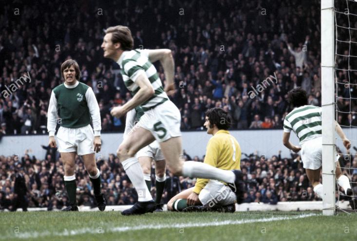 Celtic Hibernians 6 1 6 5 1972 Finale Coppa Di Scozia Billy Mc Neill Esulta Dopo Il Gol Celtic Wrestling Glasgow