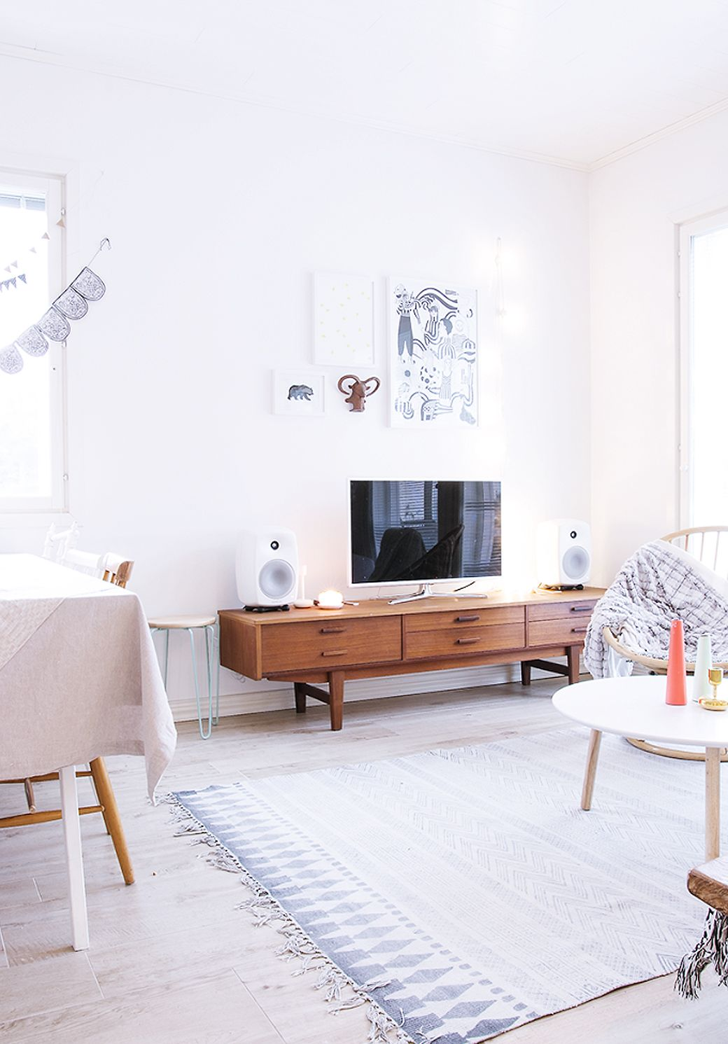 Home Tour: Natural Living in Finland | Naturally beautiful, Living ...
