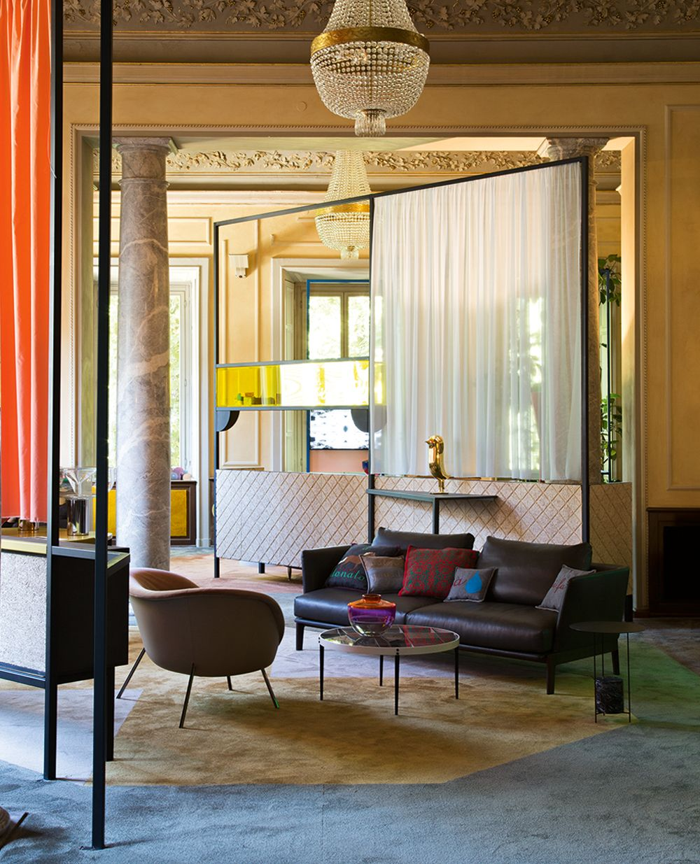 Marcante Testa SOFT HOME | Exhibit Design For Elle Decor Italia At Milan  Furniture Fair