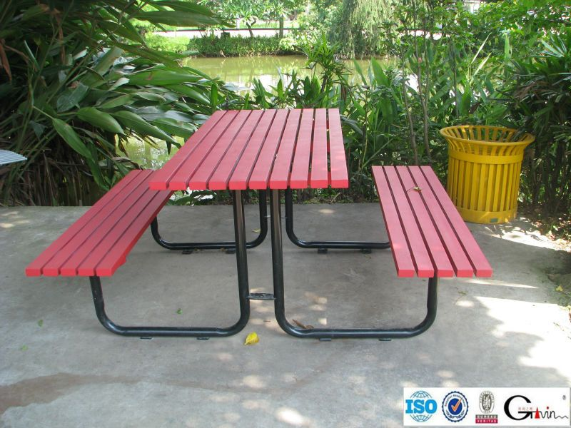 Admirable Recycled Plastic Wood Picnic Table And Benches With Patio Creativecarmelina Interior Chair Design Creativecarmelinacom