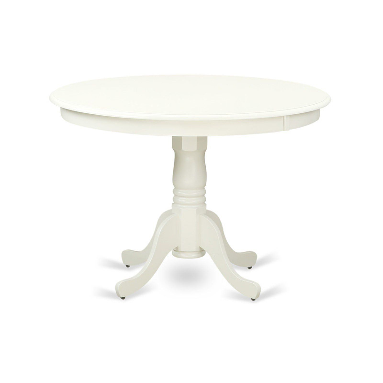 East West Furniture Hartland 42 Inch Round Pedestal Dining Table Dining Table Dining Table In Kitchen Wood Dining Table