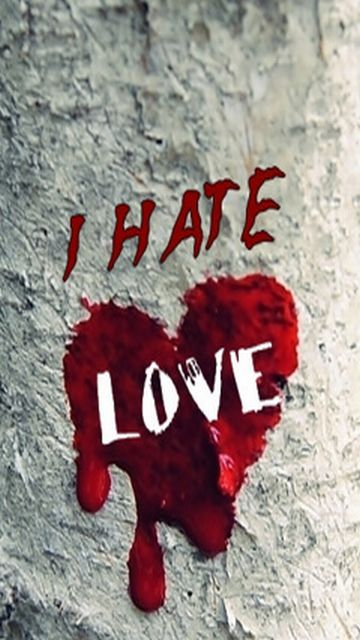 Download Hate wallpapers to your cell phone couple hate love HD