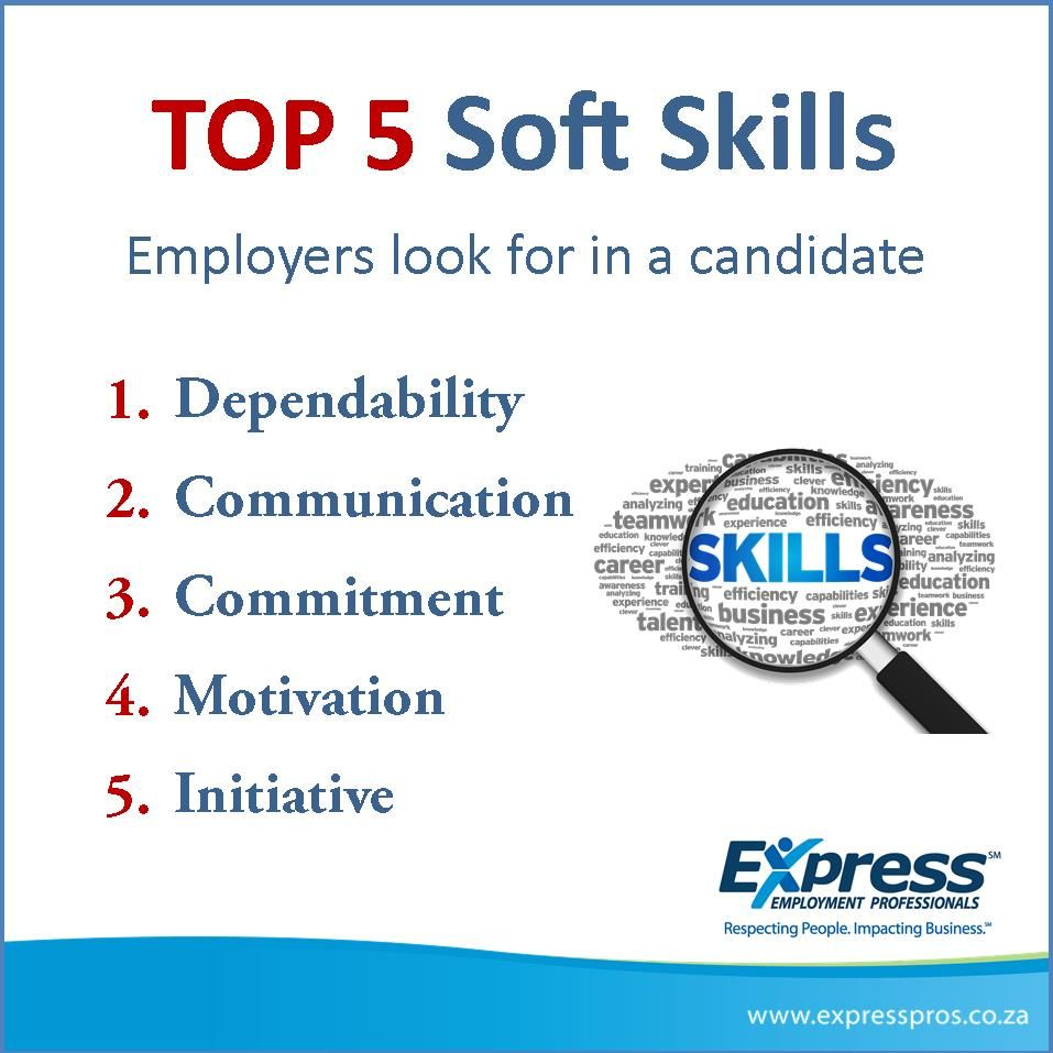 The Top 5 Soft Skills Employers Look For In A Candidate Top5