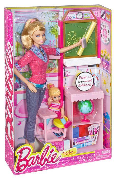 Barbie Careers Teacher Playset Barbie Dolls Pinterest