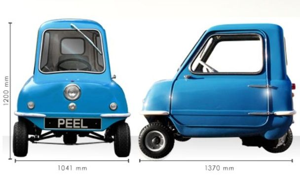 The Glorious Return Of World S Smallest Street Legal Car L P50