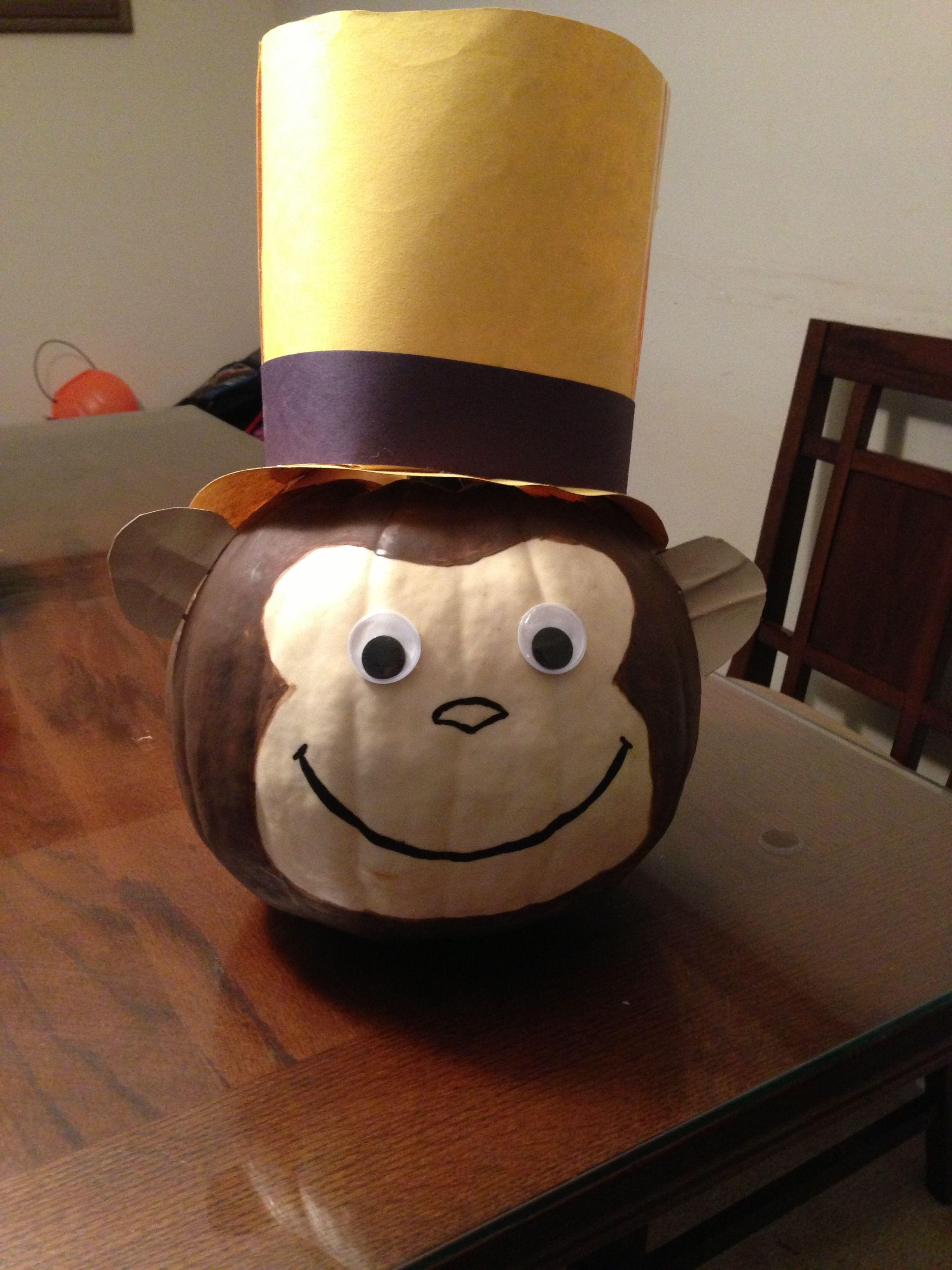 Curious George Pumpkin Billys Halloween Board Curious George