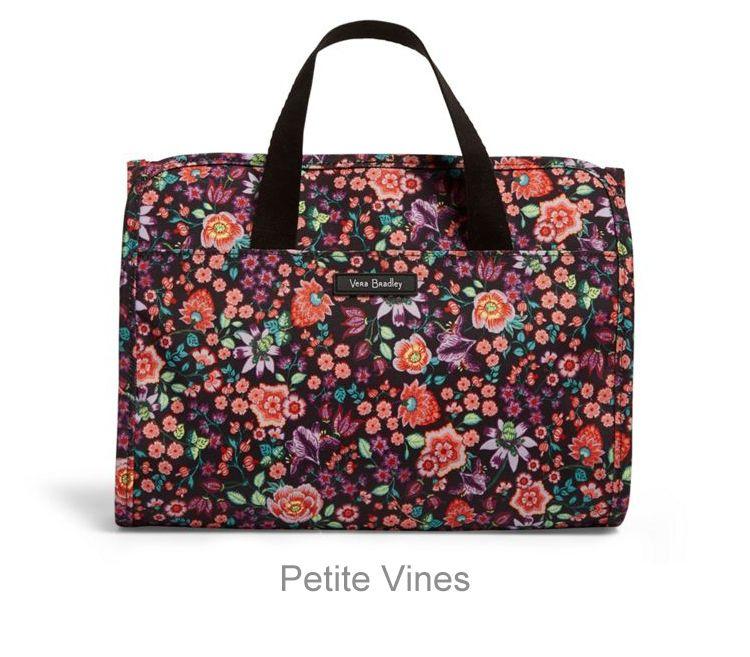 3459e815de Iconic Hanging Travel Organizer - Petite Vines (Lighten Up) - Caroline    Company  carolineandco  VeraBradley  travelorganizer  giftideas