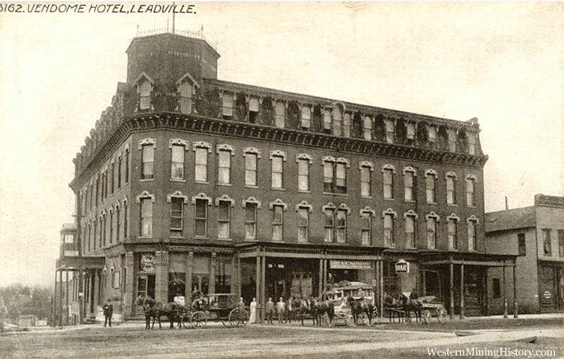 The Tabor Grand Hotel Originally Opened In 1885 Leadville Known For Years As