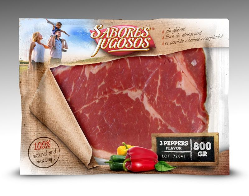 Design #61 by tomdesign.org | PACKAGING FOR A PLASTIC BAG CONTAINING SLICED MEAT