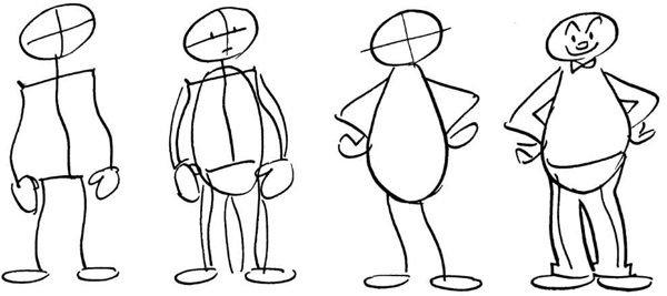 How To Draw Cartoon Figures Bodies In Easy Steps How To Draw Step By Step Drawing Tutorials Cartoon Drawings Drawing People Cartoon Body