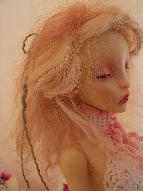Pétale, elfe des jardins | Flickr: partage de photos! my Ombre of Lillycat cerise dolls