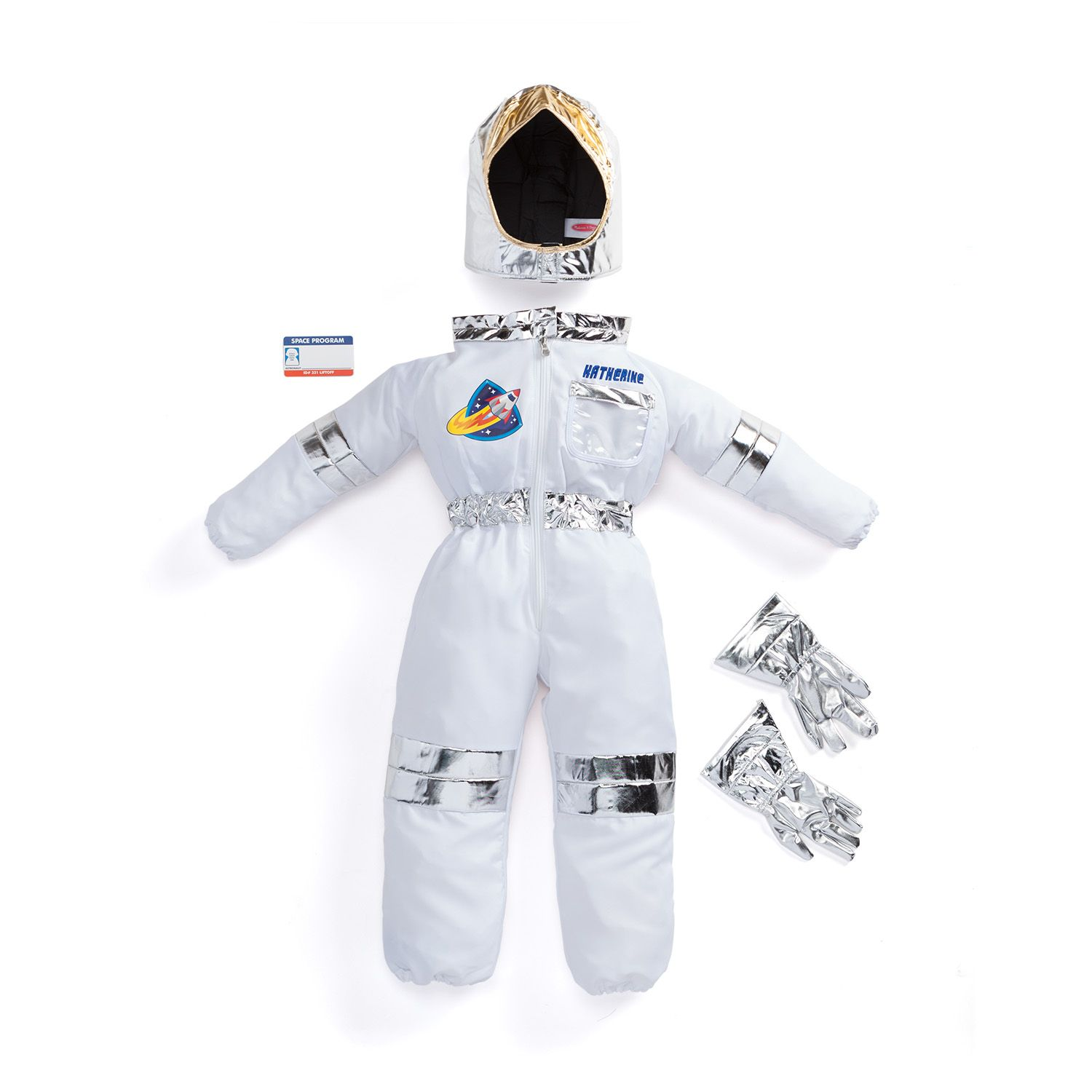 Get ready for out of this world fun with this astronaut costume