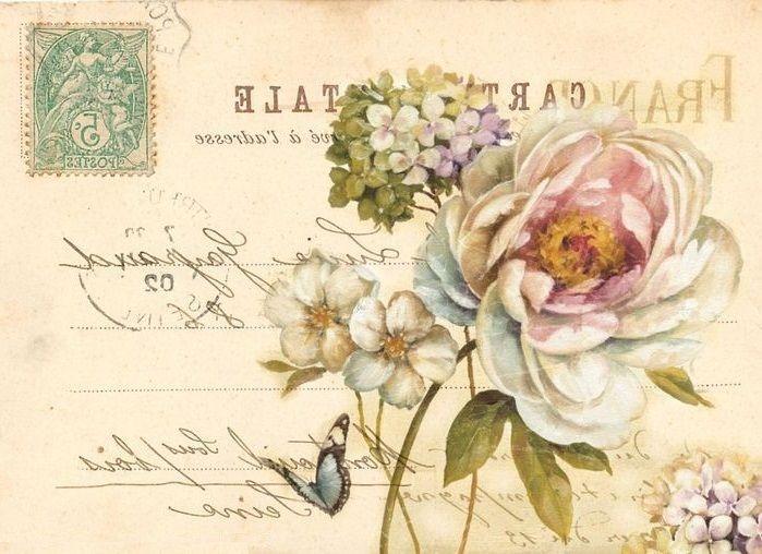 Carte postale   Vintage graphics, Vintage printables
