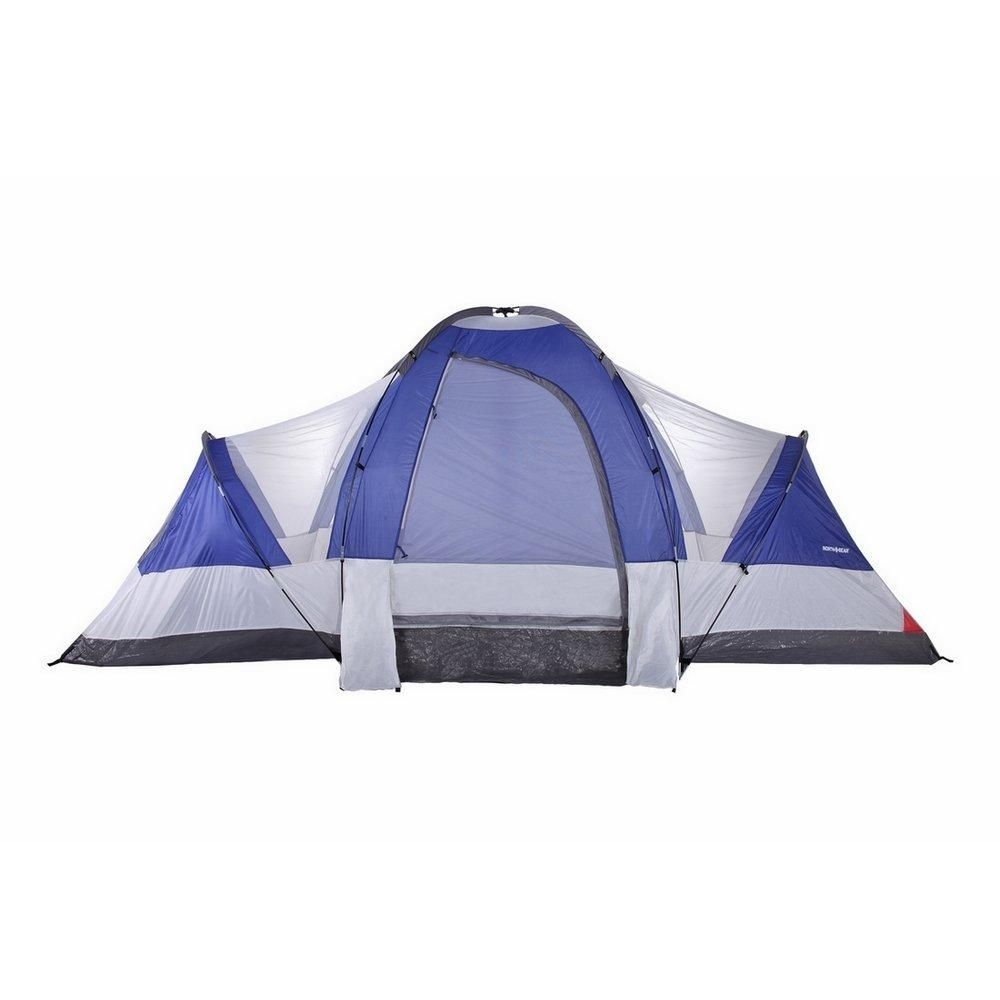 Camping Deluxe 8 Person 2 Room Family Tent | Family tent ...