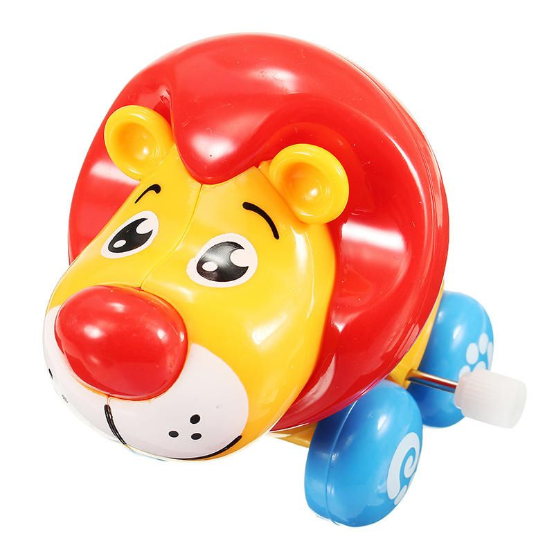 Chain Baby Walking Lion Super Sprouting Animal Wind Up