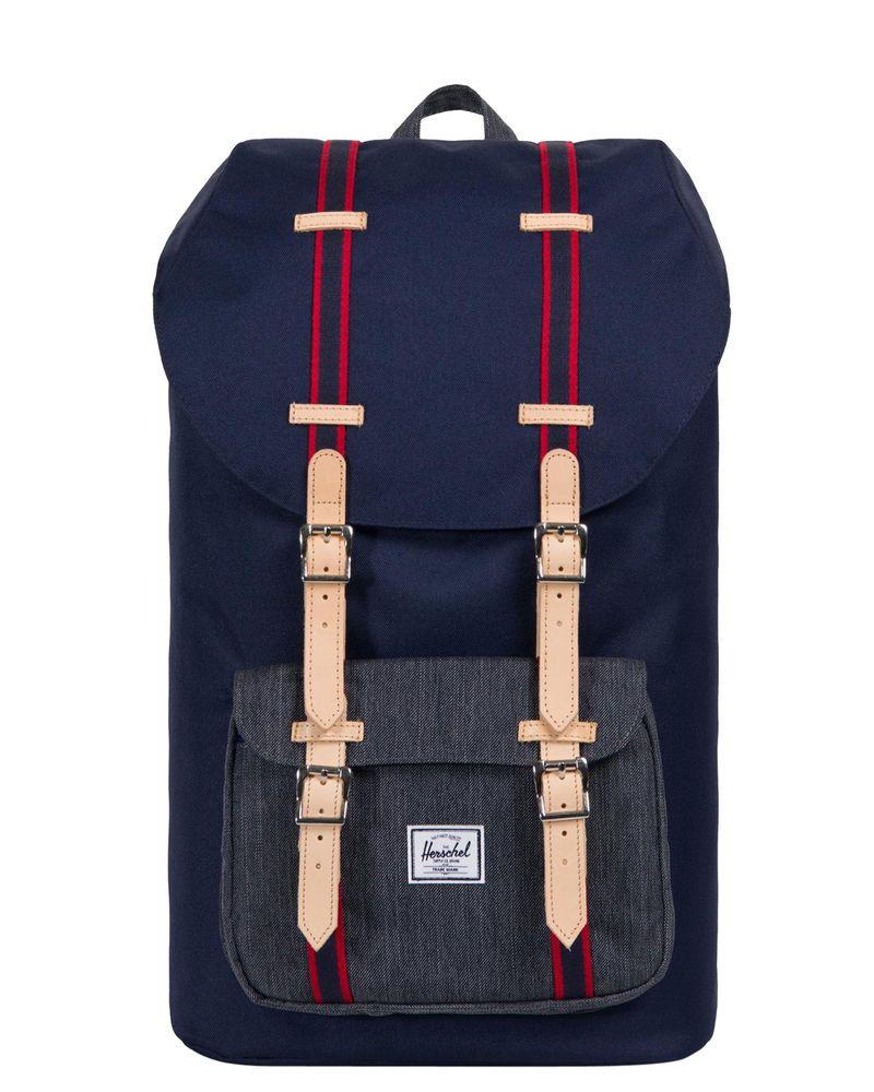 229c52c10f0f New Herschel Supply Co Men s Little America Offset 25L Backpack Mesh Blue  (eBay Link)