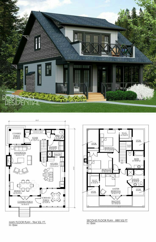 Pin Oleh Heather Petrich Di Harika Evler Arsitektur Rumah Denah Rumah Pedesaan Rumah Kebun