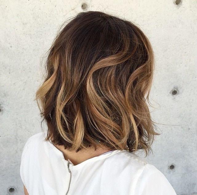 Light Brown Hair With Highlights Short Hair Best Short Hair Styles
